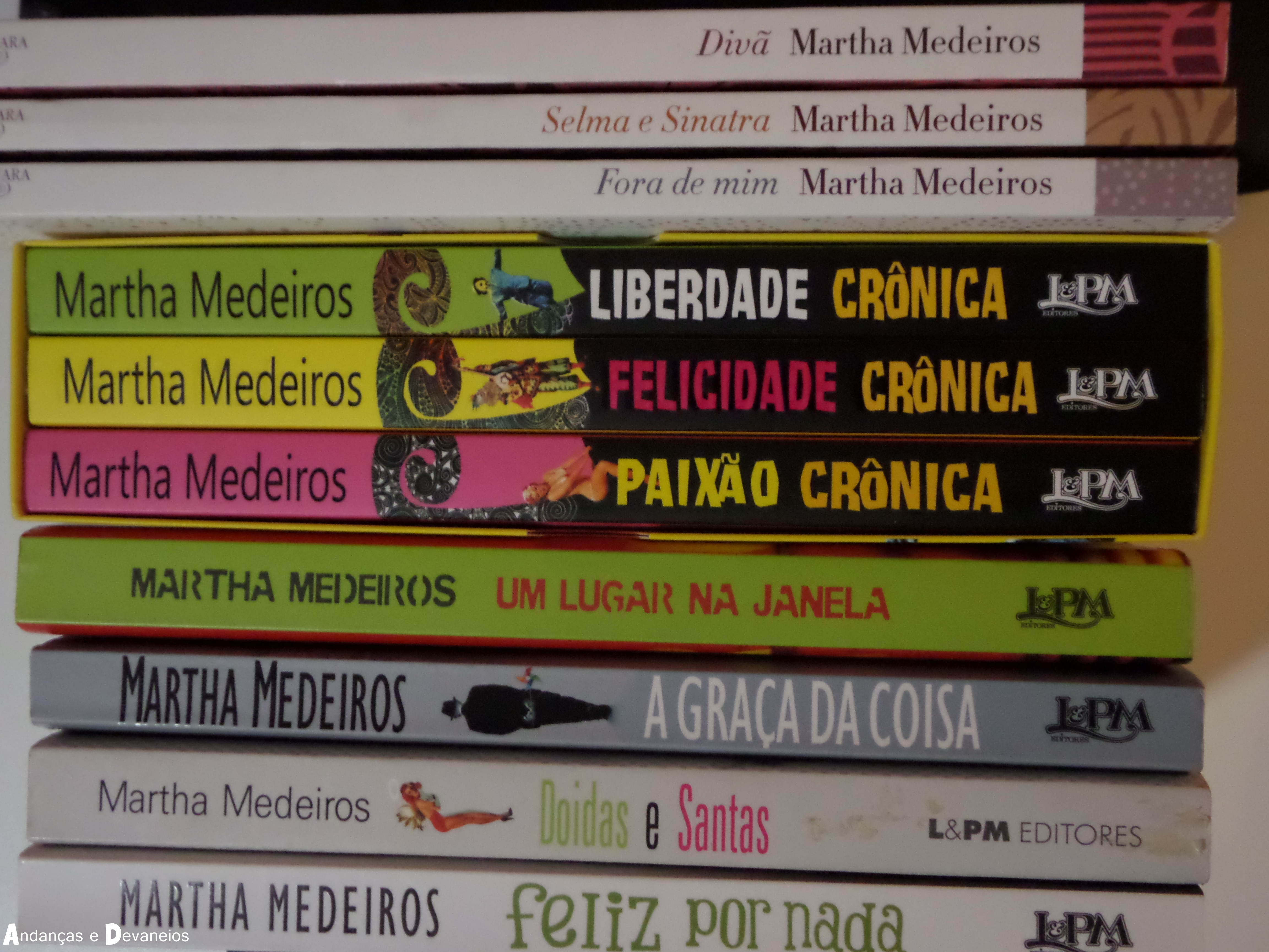 Martha Medeiros Andanças E Devaneios